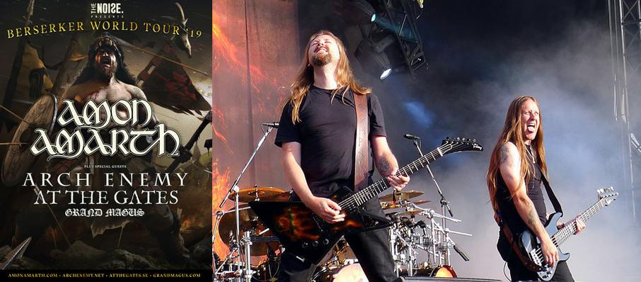 Amon Amarth at PNE Forum