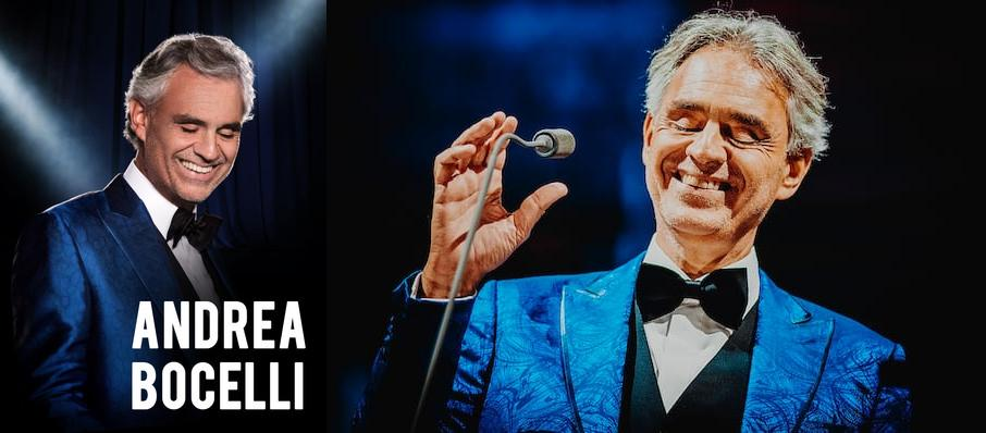 Andrea Bocelli at Rogers Arena