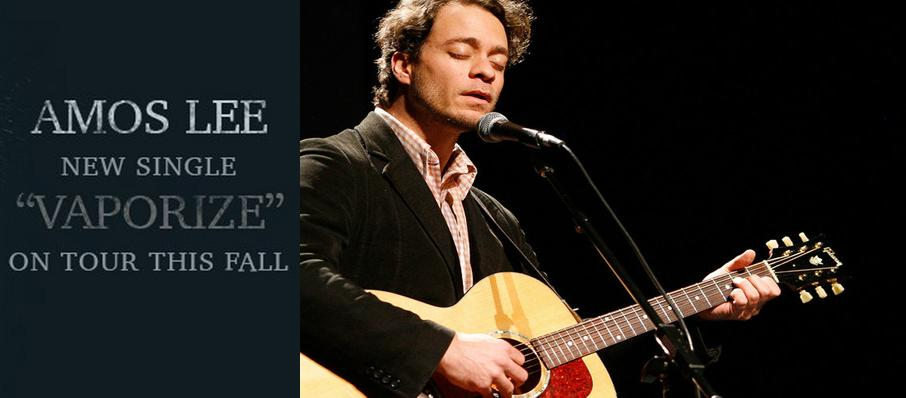 Amos Lee at Centre In Vancouver For Performing Arts