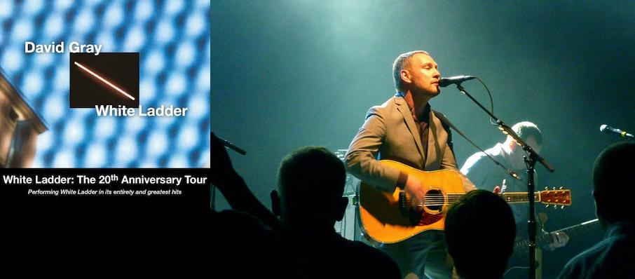 David Gray at Centre In Vancouver For Performing Arts