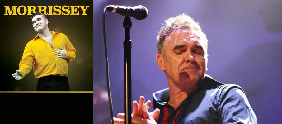 Morrissey at Orpheum Theatre
