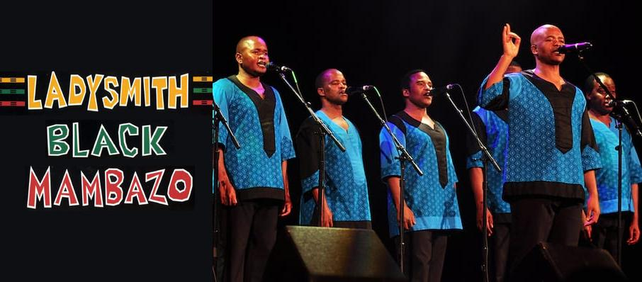Ladysmith Black Mambazo at Chan Centre For The Performing Arts