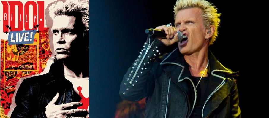 Billy Idol at Westjet Concert Stage at PNE Rogers Amphitheatre