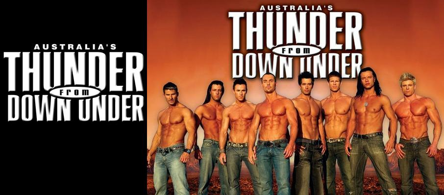 Thunder From Down Under at Hard Rock Casino Theatre