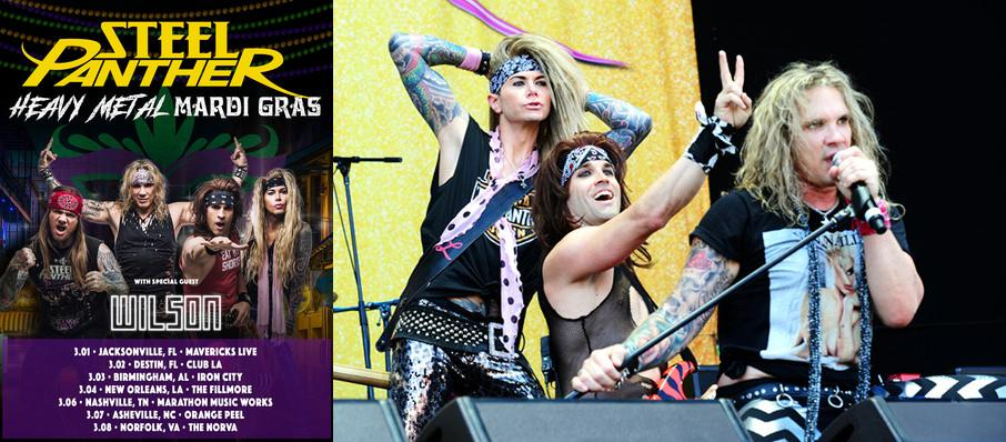 Steel Panther at Commodore Ballroom
