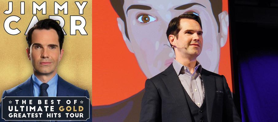 Jimmy Carr at Vogue Theatre