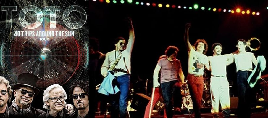 Toto at Centre In Vancouver For Performing Arts