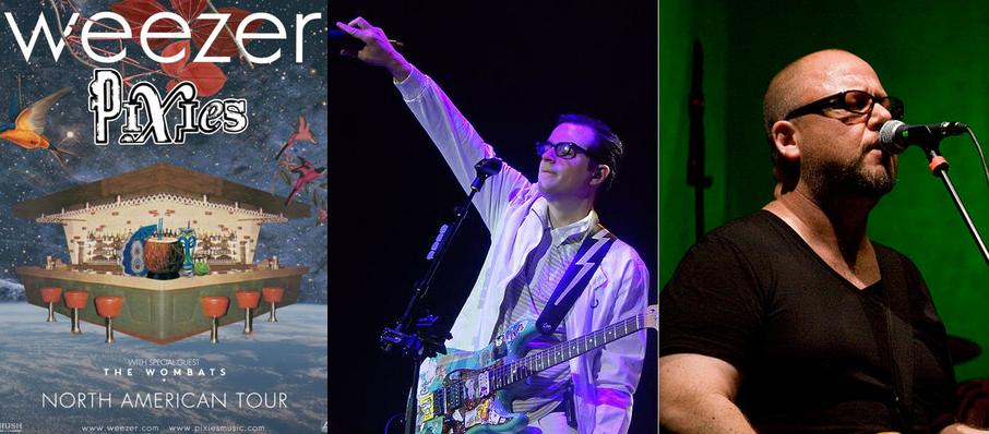 Weezer and Pixies at Rogers Arena