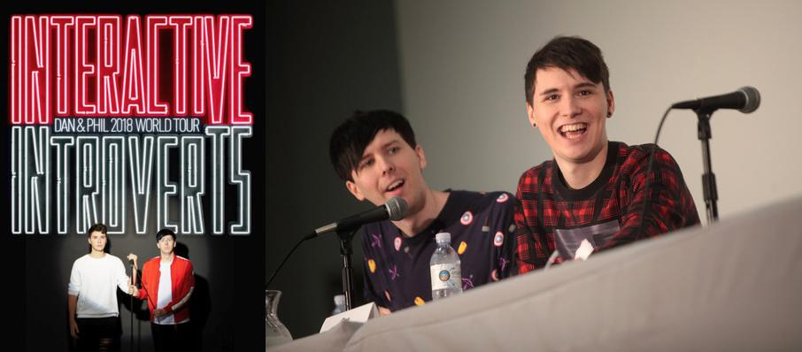 Dan and Phil at Queen Elizabeth Theatre