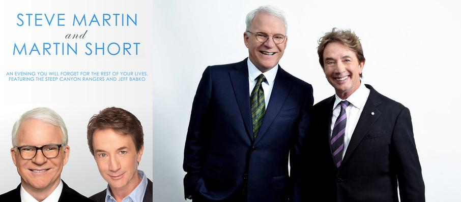 Steve Martin, Martin Short, and The Steep Canyon Rangers at Queen Elizabeth Theatre