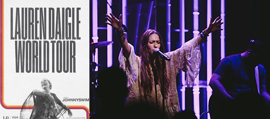 Lauren Daigle at Orpheum Theatre