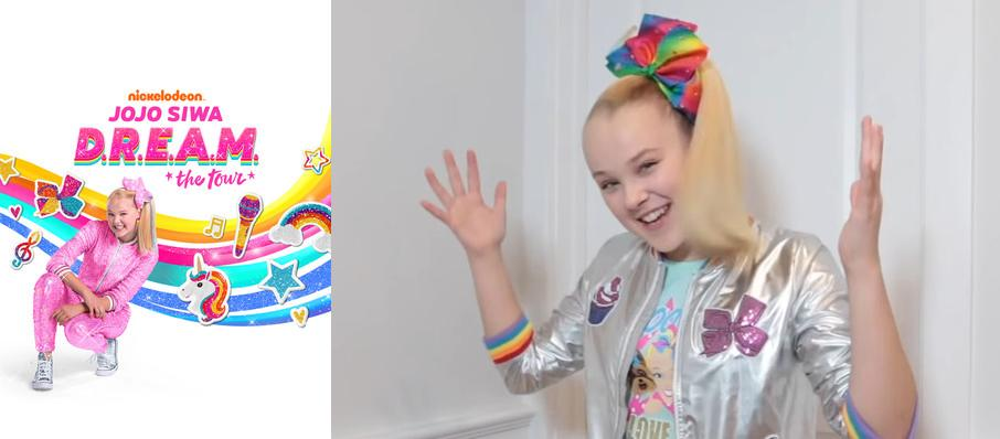 Jojo Siwa at Doug Mitchell Thunderbird Sports Centre