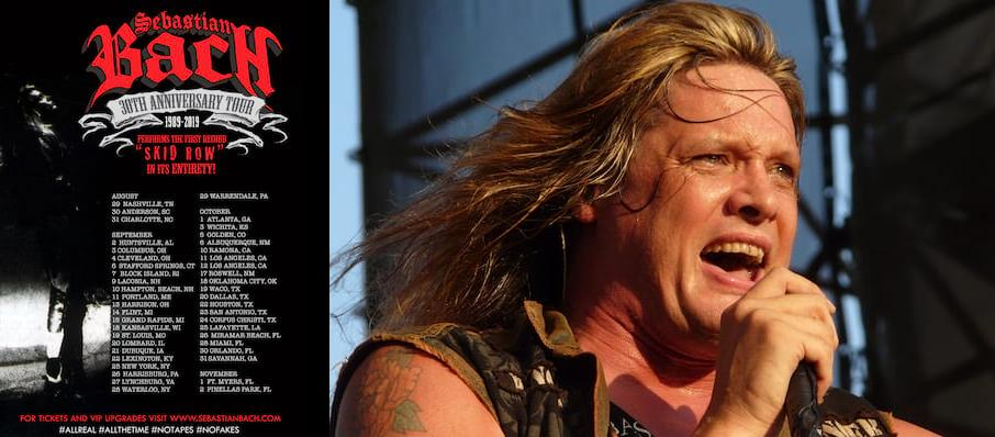 Sebastian Bach at Commodore Ballroom