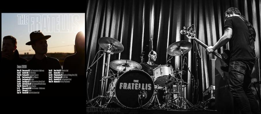 The Fratellis at Commodore Ballroom