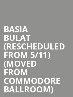 Basia Bulat (Rescheduled from 5/11) (Moved from Commodore Ballroom) at The Imperial
