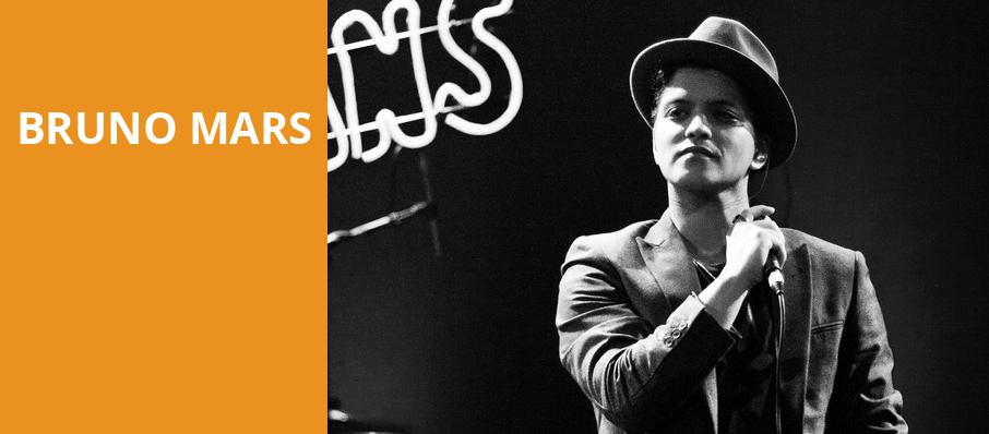 Bruno Mars, Rogers Arena, Vancouver