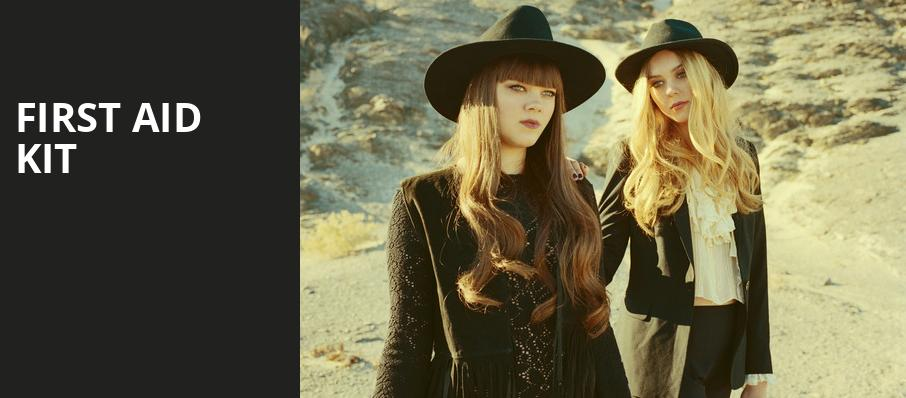 First Aid Kit, Vogue Theatre, Vancouver