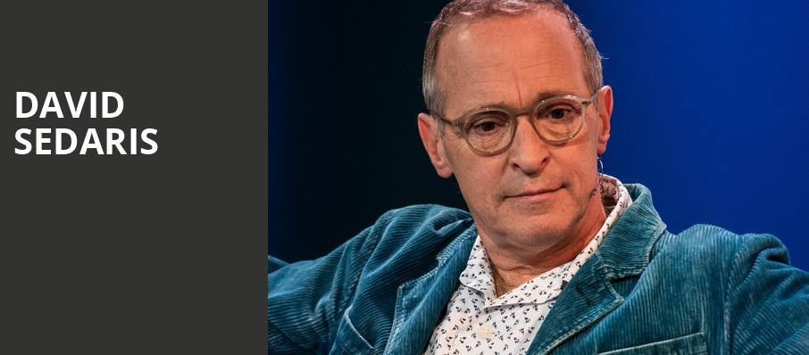 David Sedaris, Vogue Theatre, Vancouver
