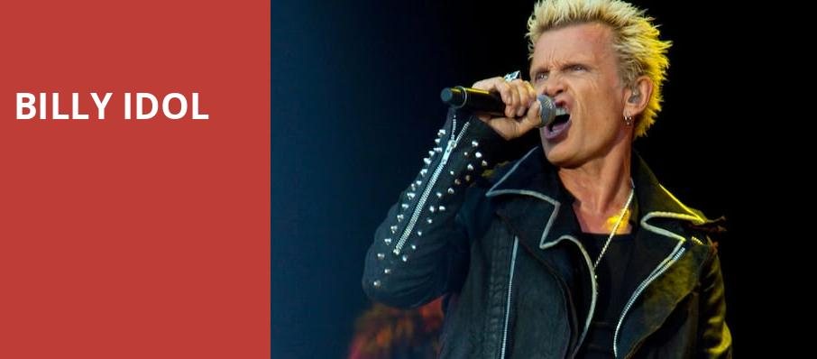 Billy Idol, Westjet Concert Stage at PNE Rogers Amphitheatre, Vancouver