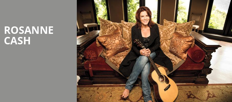 Rosanne Cash, Chan Centre For The Performing Arts, Vancouver