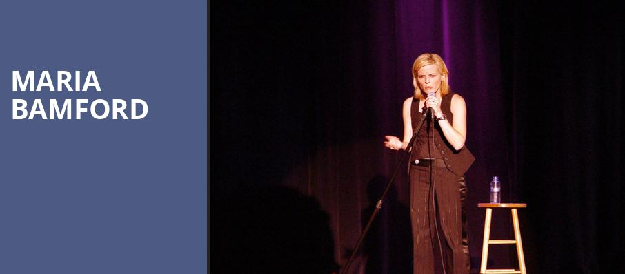 Maria Bamford, Vogue Theatre, Vancouver