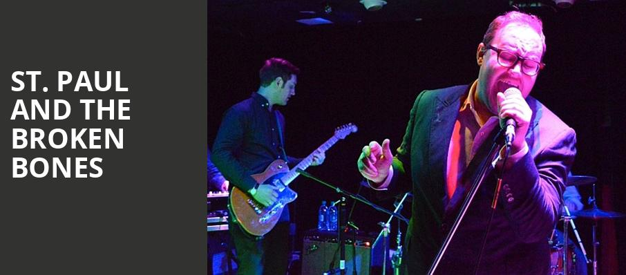 St Paul and The Broken Bones, Commodore Ballroom, Vancouver