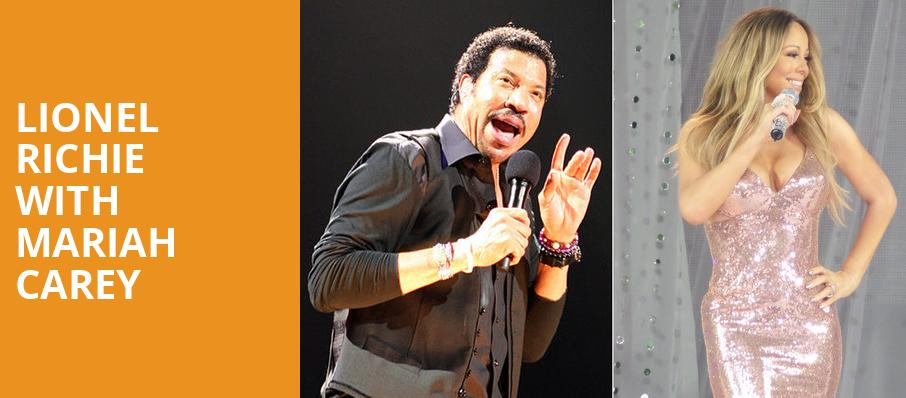 Lionel Richie with Mariah Carey, Rogers Arena, Vancouver