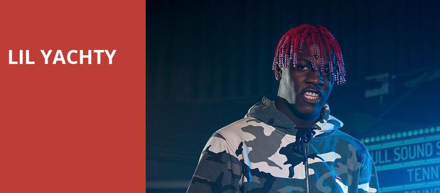 Lil Yachty, Vogue Theatre, Vancouver