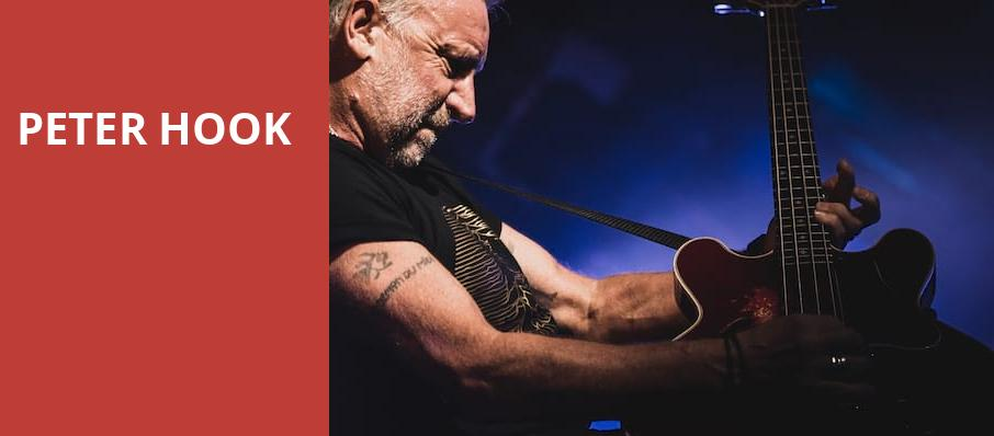 Peter Hook, The Venue, Vancouver