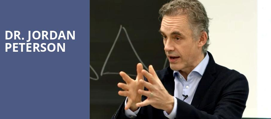 Dr Jordan Peterson, Chan Centre For The Performing Arts, Vancouver