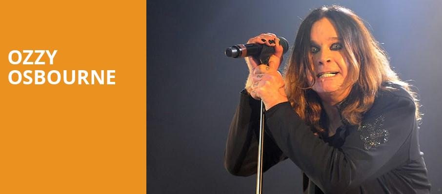 Ozzy Osbourne, Rogers Arena, Vancouver