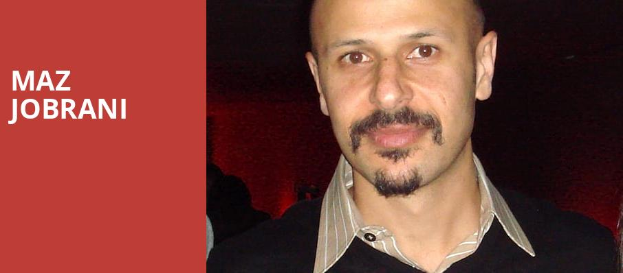 Maz Jobrani, Chan Centre For The Performing Arts, Vancouver