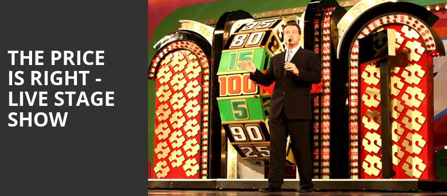 The Price Is Right Live Stage Show, Hard Rock Casino Theatre, Vancouver