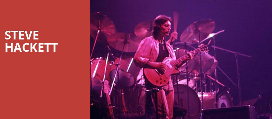 Steve Hackett, Vogue Theatre, Vancouver