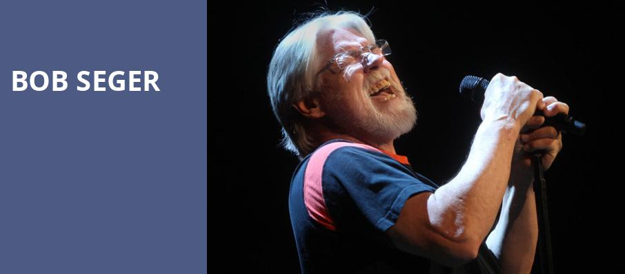 Bob Seger, Rogers Arena, Vancouver