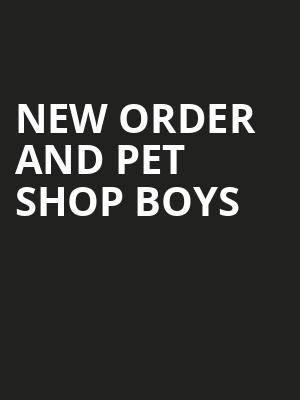 New Order and Pet Shop Boys, Rogers Arena, Vancouver