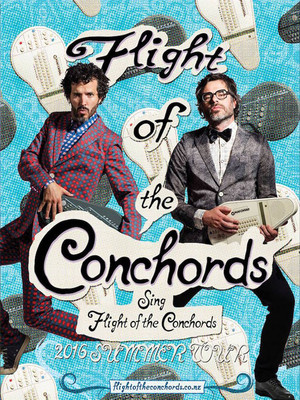 Flight of the Conchords, Orpheum Theatre, Vancouver